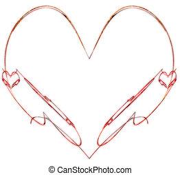 ElegantHearts - finely-detailed delicately fragile Heart of...