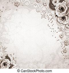 elegantie, achtergrond, trouwfeest