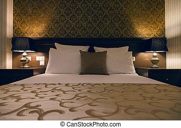 elegantie, slaapkamer