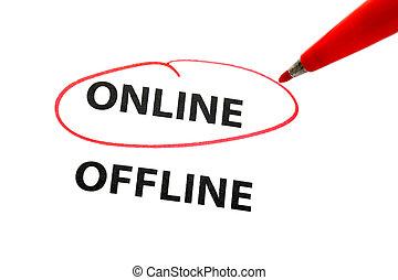 elegir, en línea