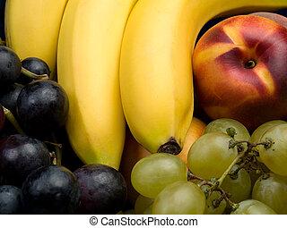 elegyít, gyümölcs, háttér