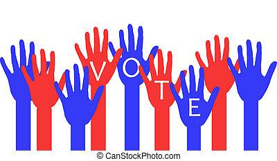 eleição, dia