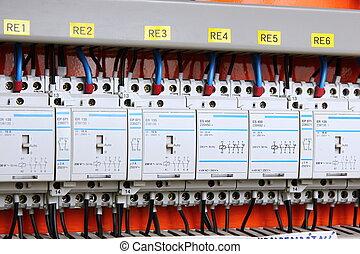 elektřina, switcher, automatický