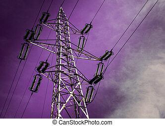 elektriciteitspaal