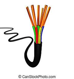 elektrický cable