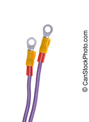 elektrisch, terminal, kabel