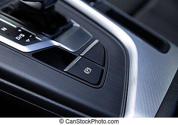 elektrisk bil, parkering, interior., switch., nymodig, ...