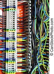 elektrisk, panel