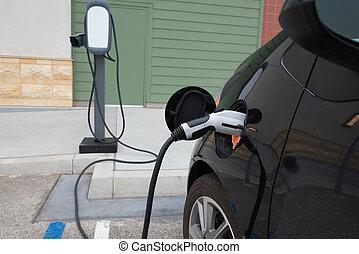 elektrisk vogn, charging