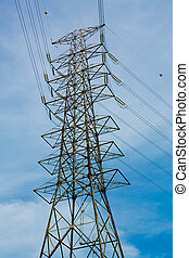 elektrizitätsstange