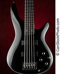 elektromos, öt, basszus, húr