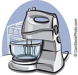elektromos konyhai robotgép, konyha