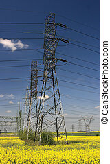elektromos, villanyoszlop