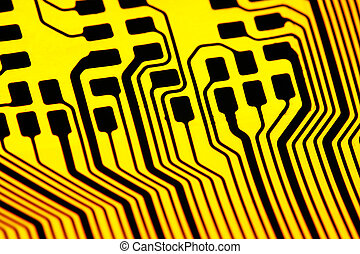 elektronik, bakgrund, teknologi