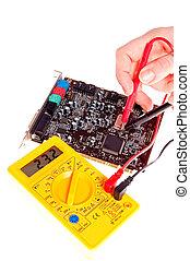 elektronik, ingenieur
