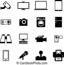 elektronisch, pictogram