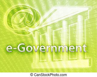 elektronisch, regering