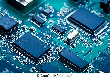 elektronisk planka
