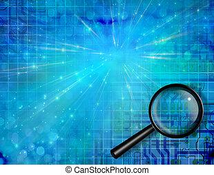 elektroniske, søgen
