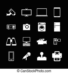 elektronowy, ikona