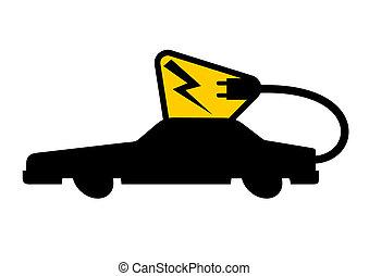 elektryczny pojazd