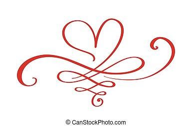 elem, végtelenség, tervezés, aláír, poster., day., wedding., forever., vektor, ábra, romantikus, t, kedves, jelkép, szeret, ing, indulat, csatlakozik, lakás, kártya, sablon, összekapcsolt, szív