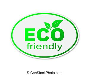 element., eco, 味方, デザイン, environment., ベクトル