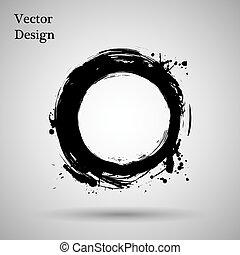 element., illustration., vector, forma., logotipo, diseño, ...
