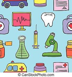 Element medical of doodle set