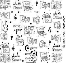 Element music doodles set