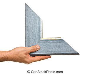 element of the frame in hand