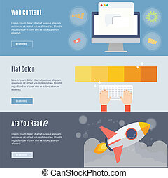 Element of web concept icon in flat design