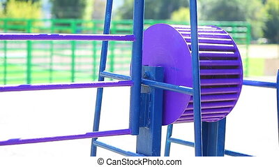 element playground in park for children