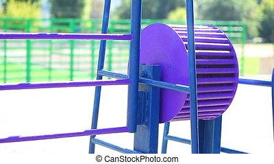 element playground in park for children