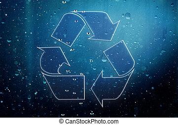 Element recycling simbols