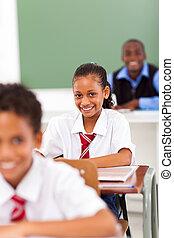 elementair, scholieren, school