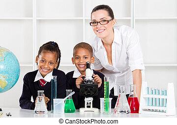elementair, wetenschap klas