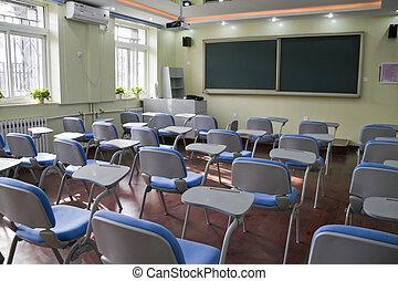 elemental, aula, escuela