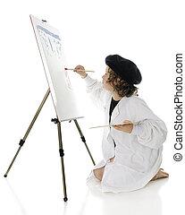 elementar, artista, no trabalho