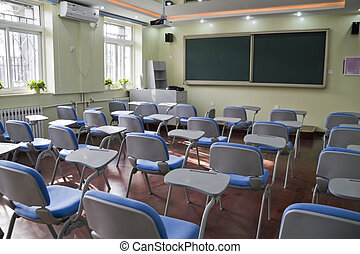 elementar, klassenzimmer, schule