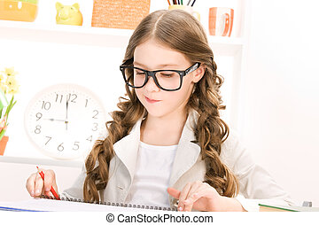 elementare scolastico studente