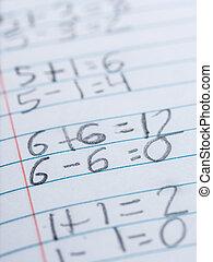 Elementary school arithmetic