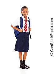 elementary schoolgirl full length