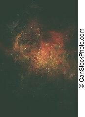 elementi, ammobiliato, questo, immagine, -, nasa, galassia