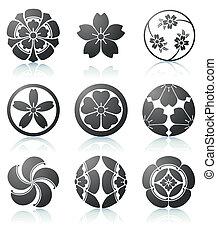elementi floreali