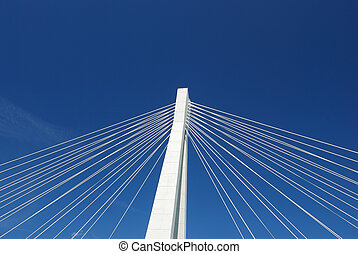 elementos, carretera, puente