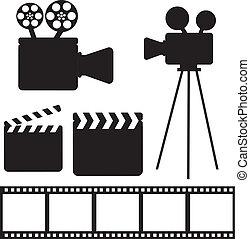 elementos, cine