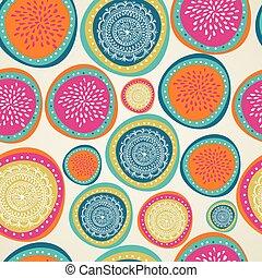 elementos, colorido, pattern., seamless, navidad, alegre, ...