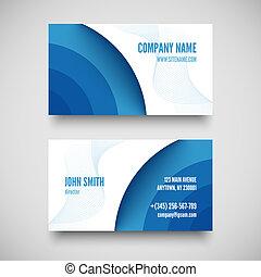 elementos, conjunto, empresa / negocio, vector, tarjeta, ...