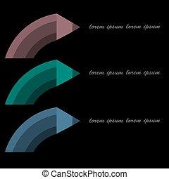 elementos, ou, teia, passo, opções, negócio, mínimo, workflow, apresentação, infographics, número, esquema, lápis, desenho, forma